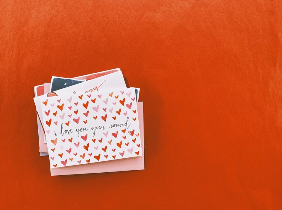 Galentine's Day Pack of 5 Cards