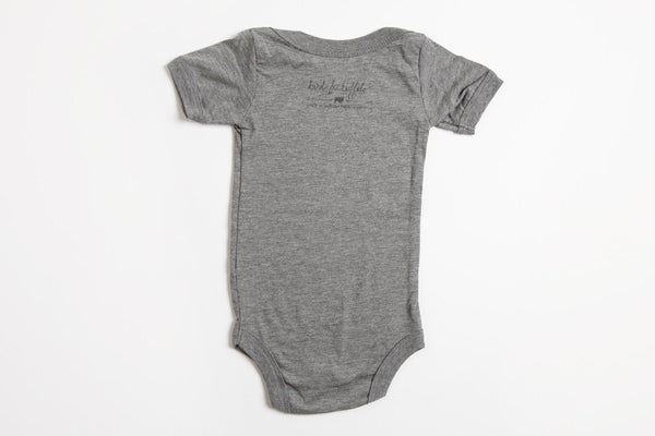 Antler Onesie - Bird and Buffalo, Made in Jackson Hole, WY