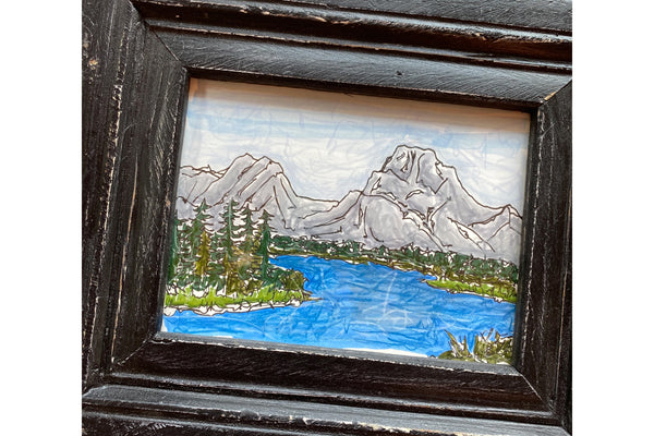 Oxbow Bend Black Frame - Bird & Buffalo