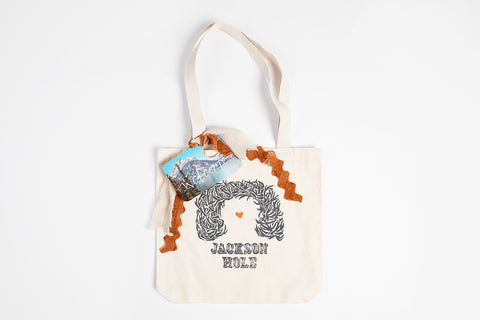 Tote Bag - Custom Build Your Own Wedding Bag - Bird and Buffalo, Made in Jackson Hole, WY
