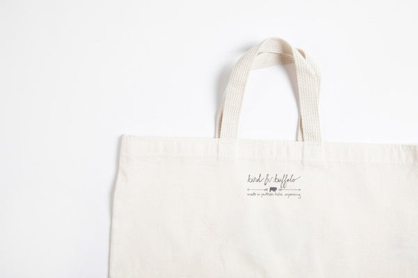 Tote Bag - Arch - Bird and Buffalo, Made in Jackson Hole, WY