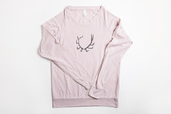 Antler Women's Slouchy Shirt - Bird & Buffalo