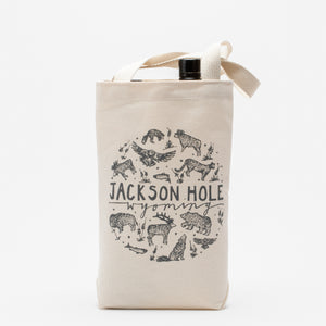 Two Bottle Wine Tote - JH Animals