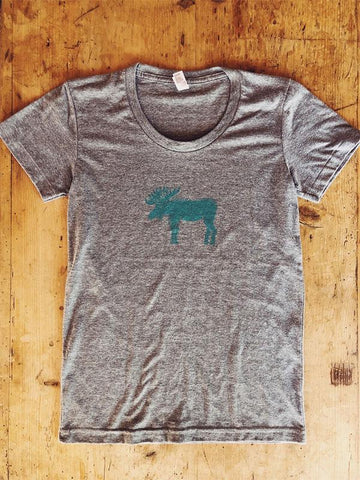 SALE Women's Moose Short Sleeve - Bird & Buffalo
