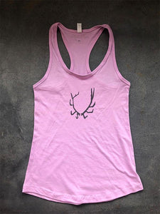 SALE Antler Tank Top - Bird and Buffalo, Made in Jackson Hole, WY