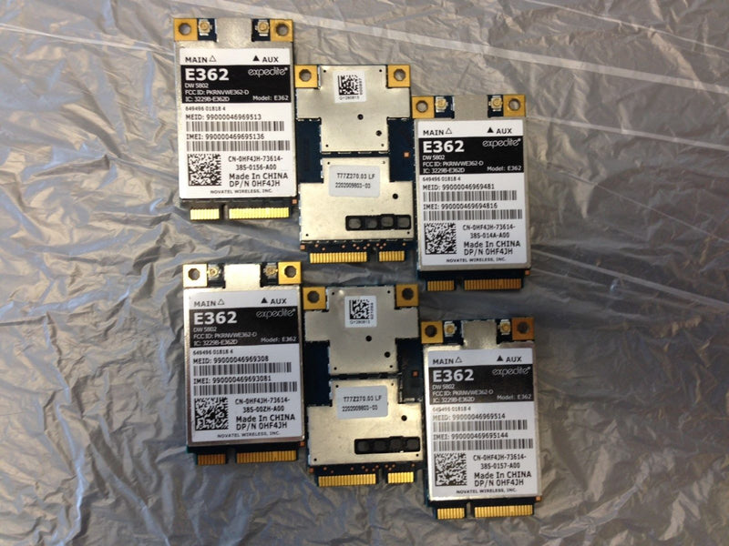 Dell 0HF4JH Wireless DW5802 LTE/WWAN Mobile Broadband E362 4G CARD