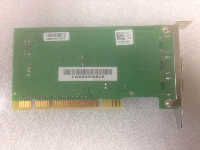 Genuine Dell 1394A Dual Port Low Profile Firewire Card J886H 0J886H