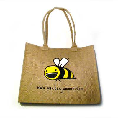 Eco Friendly Burlap Tote