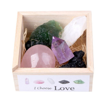 Love & Happiness Crystal Set - enhale