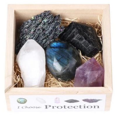 Protection & Grounding Crystal Set - enhale