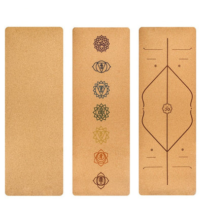 Natural Cork Meditation & Yoga Mat - enhale