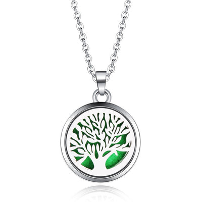 Aromatherapy Necklace: Tree Of Life - enhale