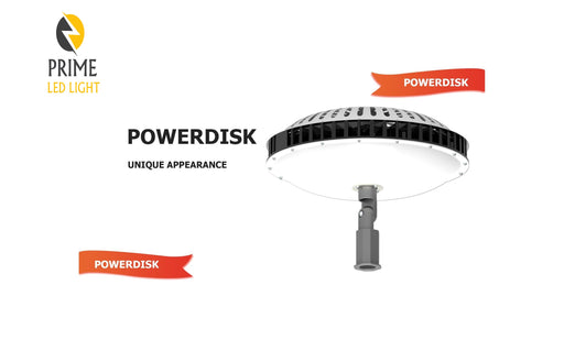 300 W Job site LED Powerdisk Light