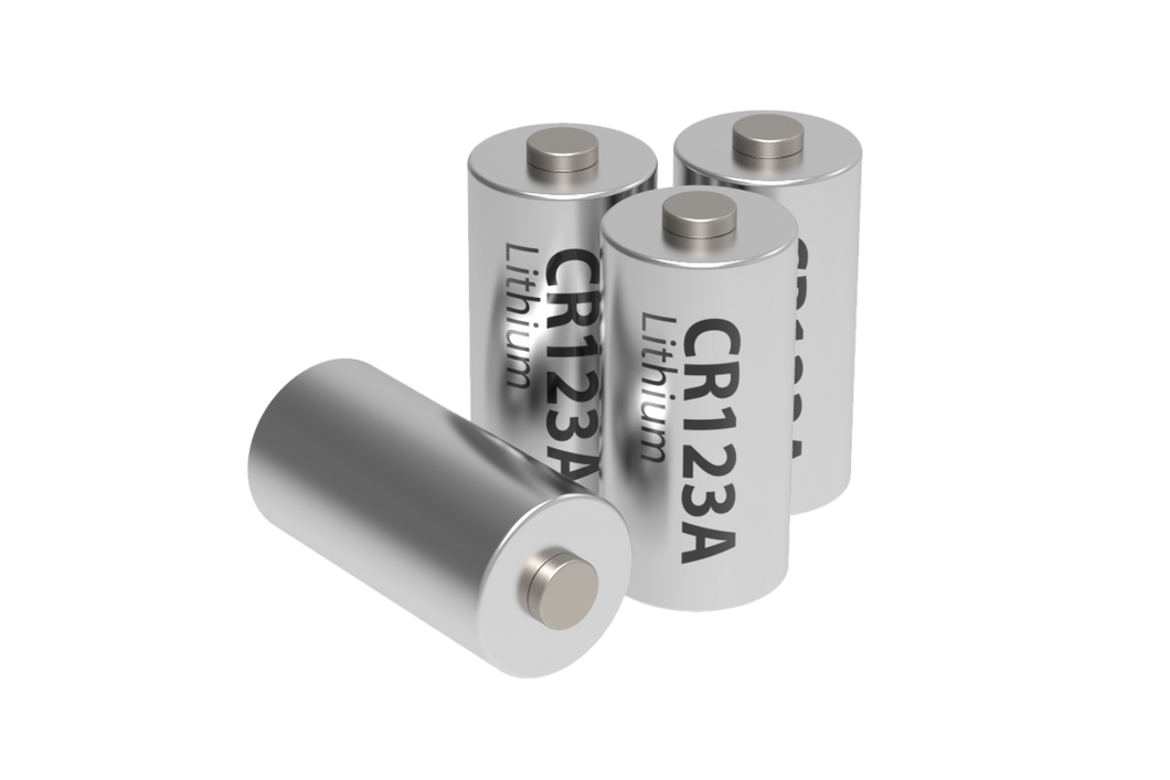 CR123A Batteries X 4