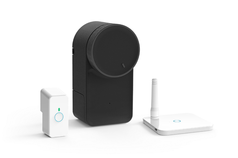Keymitt Smart Lock, Wi-Fi Hub and Push