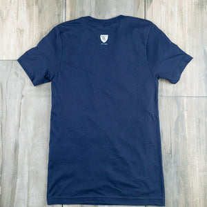T-Shirt | Already Not Yet | Navy