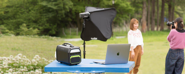 Best portable solar generator for Photography