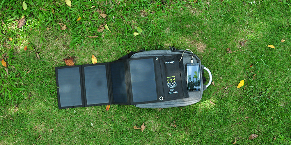 25W Solar Charger Flexible Solar Panel