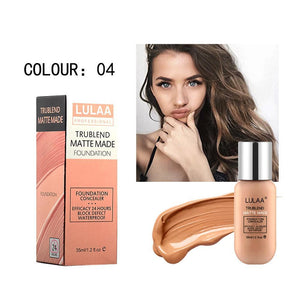 Buy 1 Get 1 Free!!Last 3 Days Promotion!!!LULAA® 35ML Long Lasting Waterproof Matte Liquid Foundation