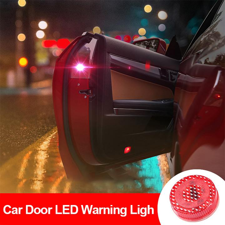 Magnetic Waterproof Car Door LED Warning Light by Gearbesty