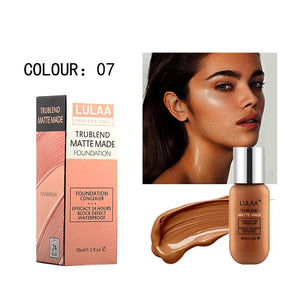 (Buy 2 Get 2 Free+ Free Shipping!!)LULAA® 35ML Long Lasting Waterproof Matte Liquid Foundation