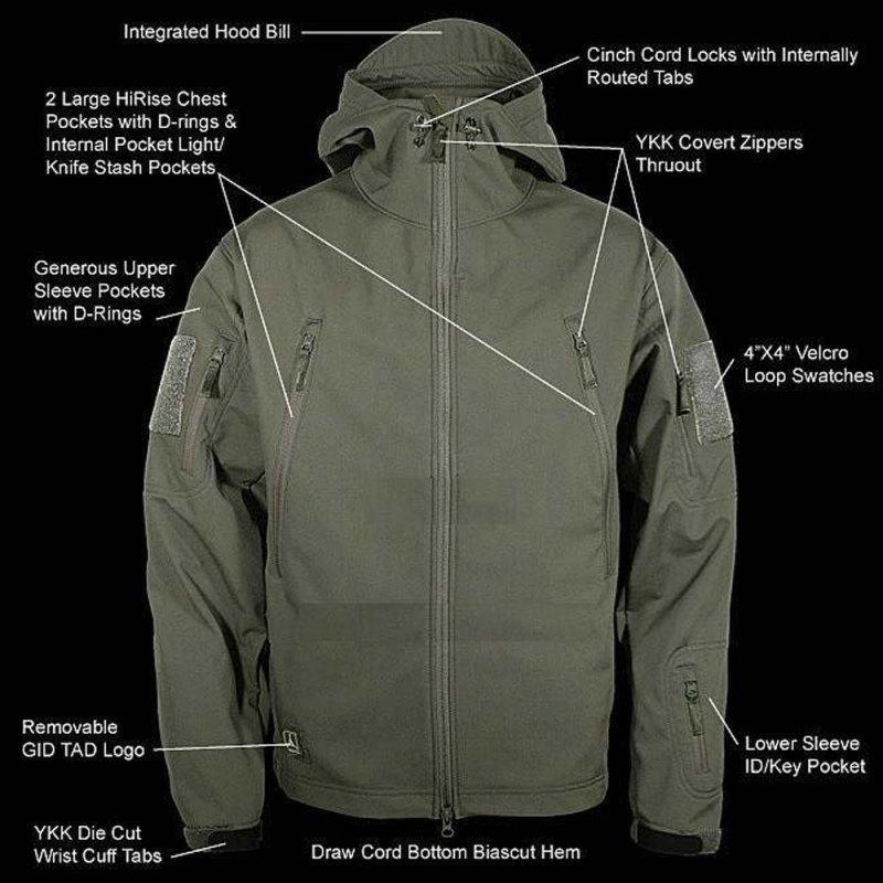 (Christmas Promotion-40% OFF)Outdoors Waterproof Military Tactical Jacket(Men)