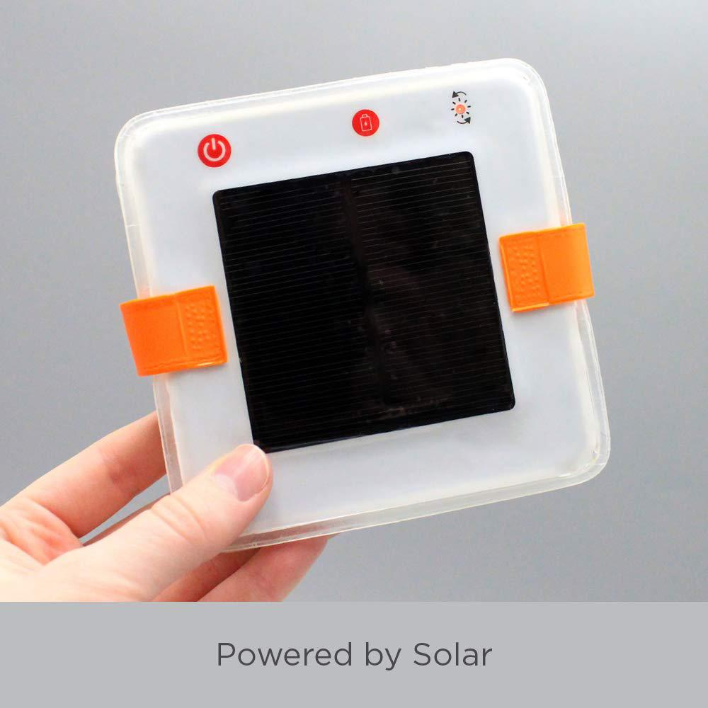 Solar Inflatable Lantern and Phone Charger (2-in-1)