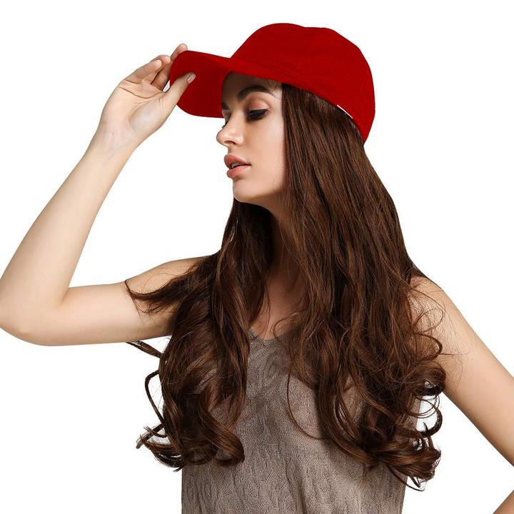 (Red Hat) Hair Wig Cap-Buy 2 Free Shipping