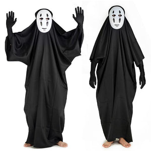 "Halloween Specials!SPOOKY ""NO FACE"" MASK AND CLOTHES"
