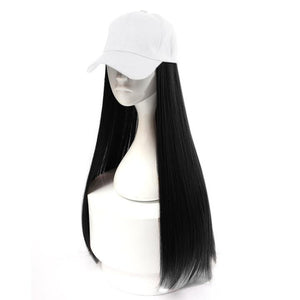 (White Hat) Hair Wig Cap-Buy 2 Free Shipping