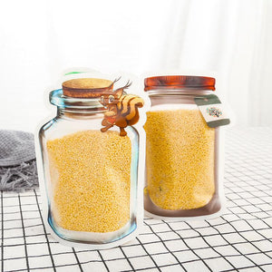 Fast and Good Zipper Reusable Food Storage