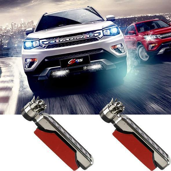 Only $9.9!Automatic Wind Power 8 LED Car Light