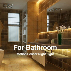 Christmas Wholesale Promotion!!Flexible LED Strip Motion Sensor Night Light-Bring You A Safe Night