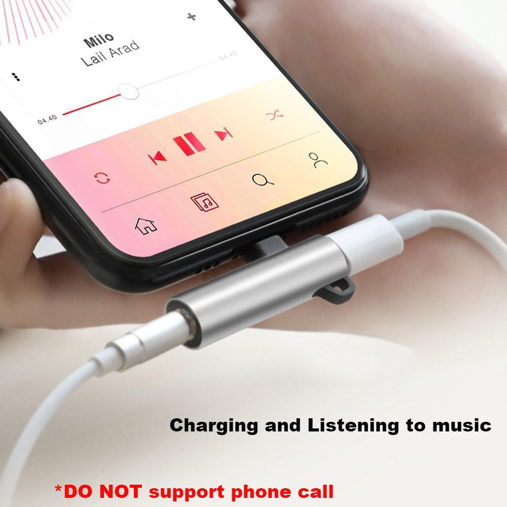 4 in 1 Earphone Lightning Adapter for iPhone