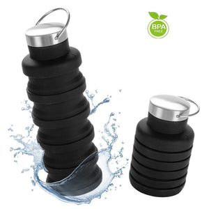 The Fashionable & Collapsible Travel Bottle