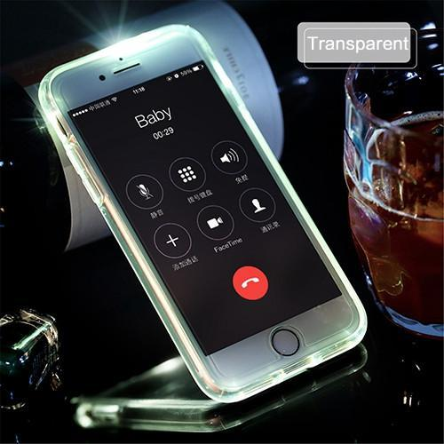 Led Flash Calling Notice Phone Case for iPhone