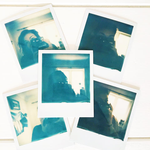 First attempts at polaroids