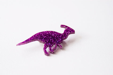 Dinosaur brooch by DesignosaurYEAH