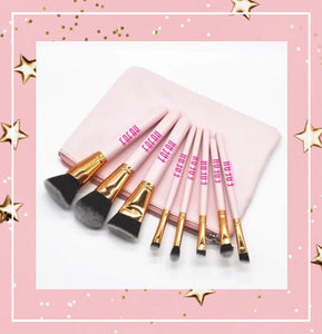 Legacy 8-Pcs Makeup Brushes Set