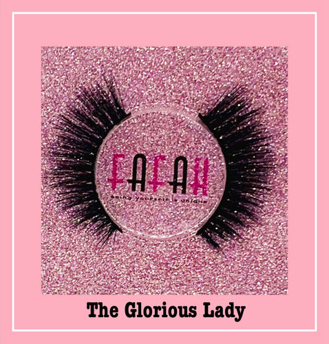 The *Glorious Lady* 3D Lashes ✨ (Cruelty Free)