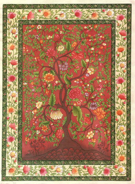 Mughal Floral Painting