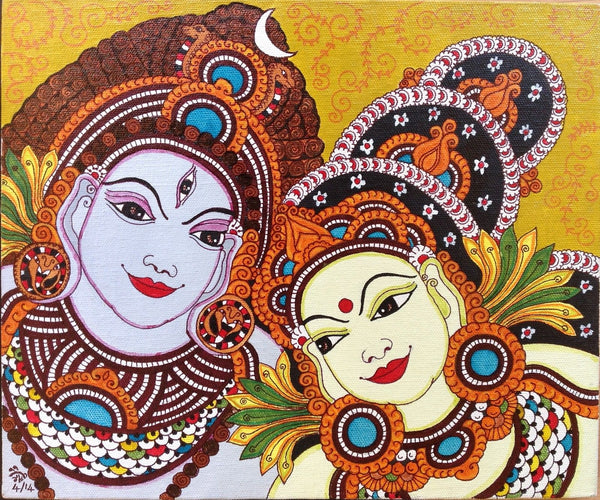 Kerala Mural Artwork