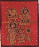 Kalpasutra Jainism Illuminated Manuscript Painting Jain Religion Historical Art