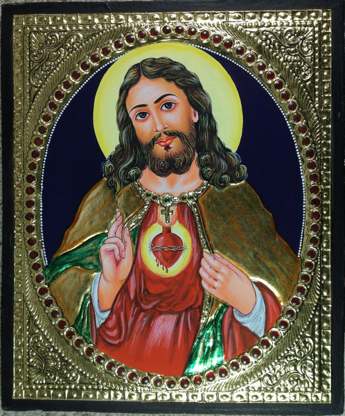 Tanjore Jesus Christ Art