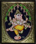 Tanjore Ganesha Artwork