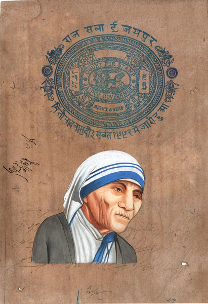 Mother Teresa Painting
