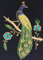 Embroidery Peacock Handicraft
