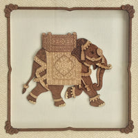 Elephant Wood Art
