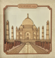 Taj Mahal Wood Art