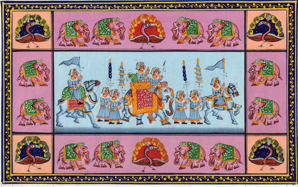 Rajasthani Indian Artwork